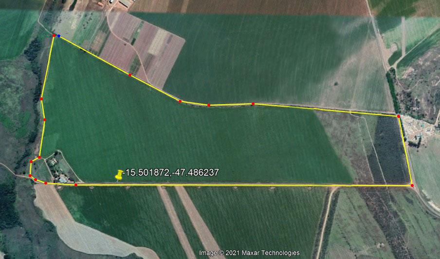 Nova área Phytus com 116 hectares disponíveis para instalação de experimentos, em Goiás