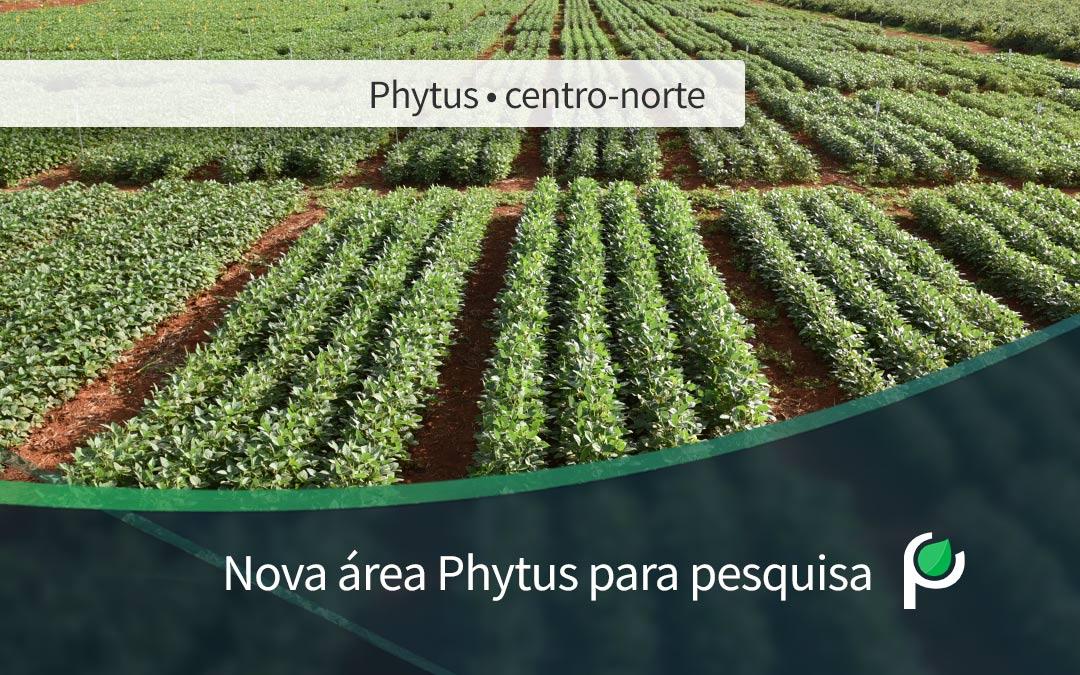 Nova área Phytus para pesquisa agrícola em Goiás